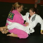 female grapplers