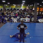 grappling spectators