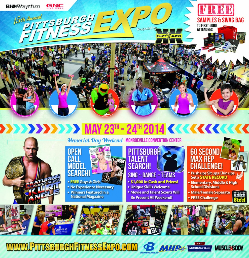 Pittsburgh Fitness Expo ad