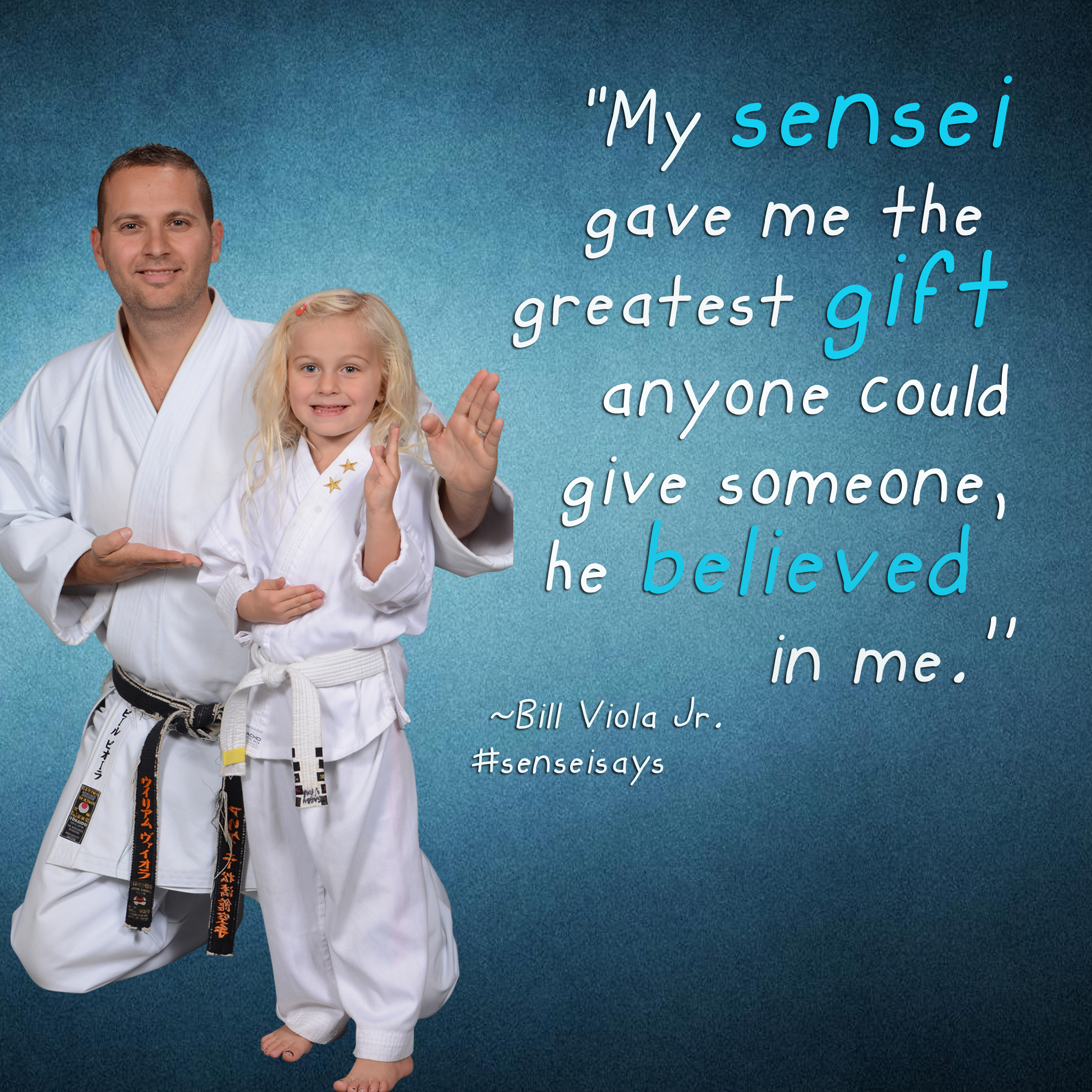 sensei says quote