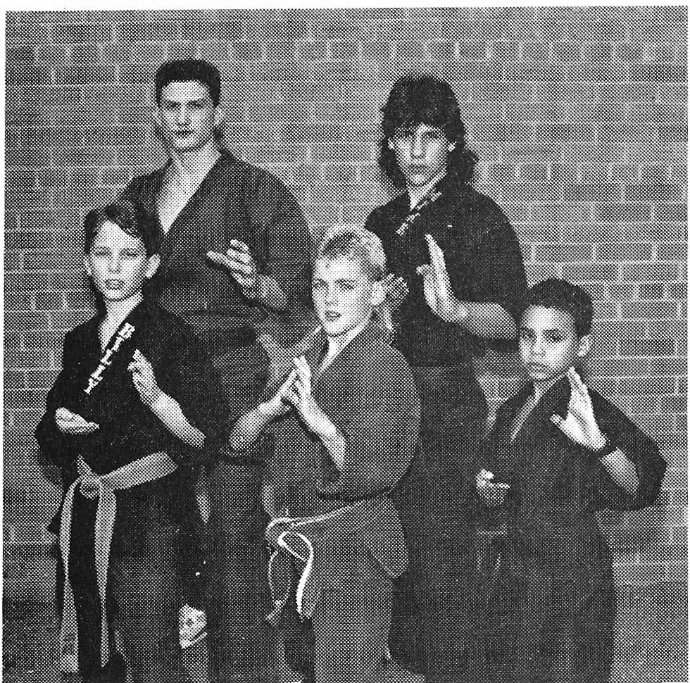 x caliber karate team
