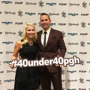 40 under 40 Pittsburgh