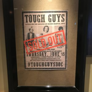 Tough Guys Sold Out