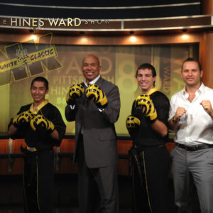 Hines Ward Viola Karate