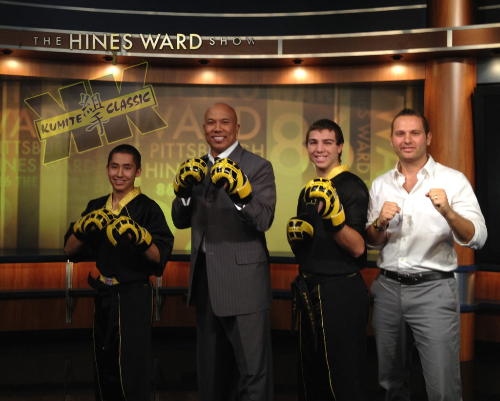 Hines Ward Positive Athelte