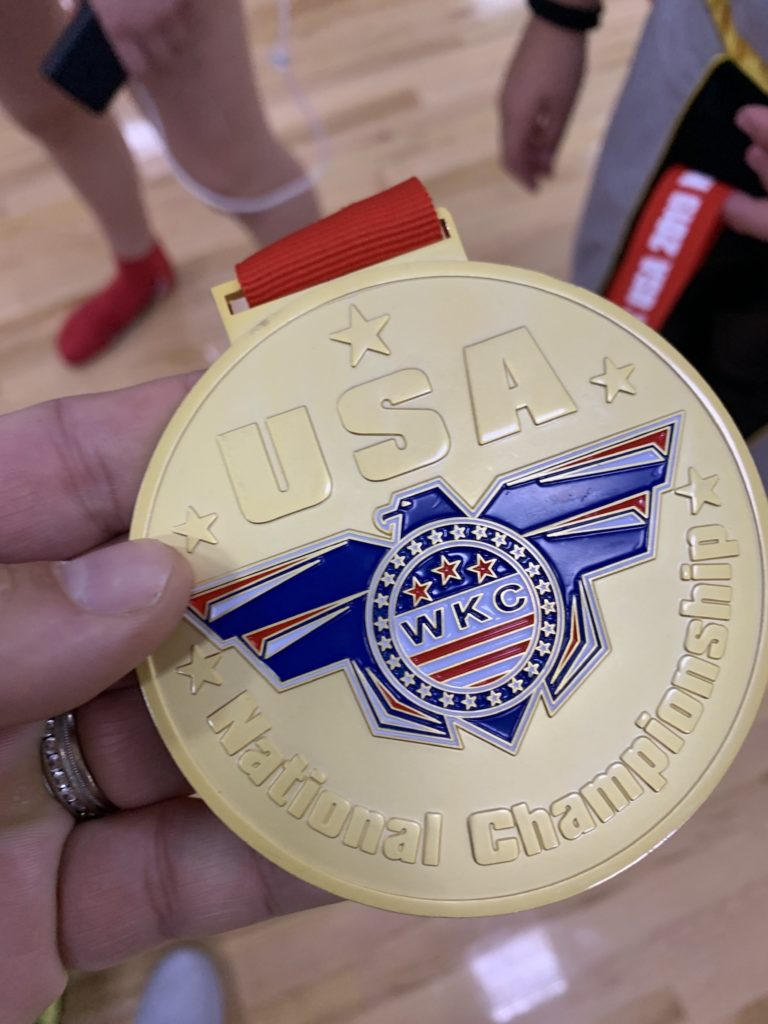 WKC Gold Medal