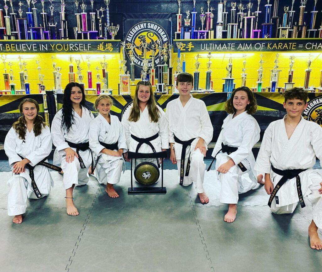 Allegheny Shotokan Karate black belts